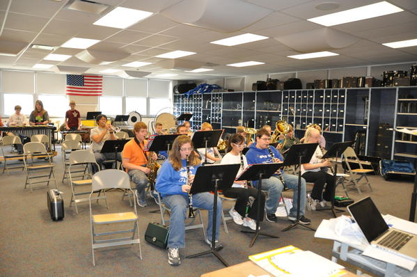 The Berlin Brothersvalley High School Band will be performing at the Chick-fil-A Bowl New Year's Eve.