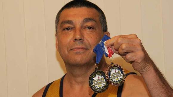 El Centro resident Robert Silva, 54, is continuing to compete in the Senior Olympics.