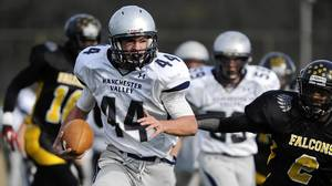 Manchester Valley rallies to stun Reginald Lewis, 20-14, in football playoffs