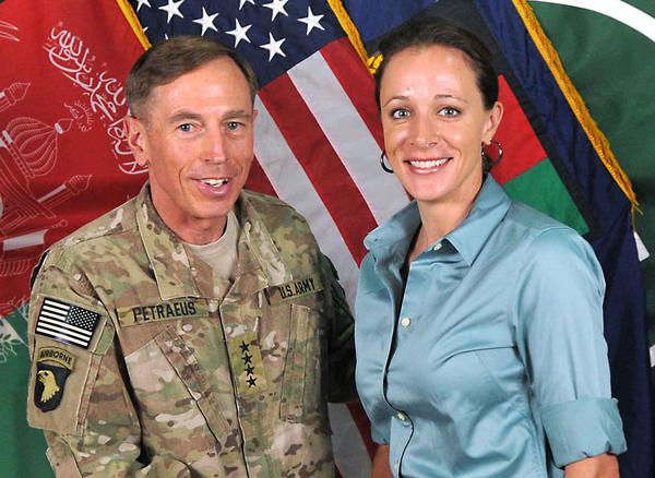 Gen. David Petraeus (left) stepped down Friday as head of the CIA after admitting that he had extra-martial affair with his biographer, Paula Broadwell (right).