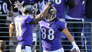 There was Ray Rice going untouched for a 7-yard touchdown run. Torrey Smith sprinting free behind the Oakland Raiders' defense and connecting with Joe Flacco for a 47-yard score. And punter/holder Sam Koch encountering very little resistance during his 7-yard touchdown scamper on a fake field goal.