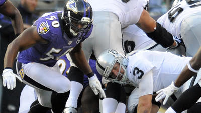 Box score: Baltimore Ravens 55, Oakland Raiders 20
