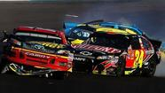 An accident, a fight and Bowyer's chase hopes end at Phoenix