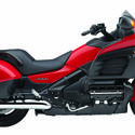 Honda Gold Wing F6B in red