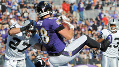 Mike Preston grades the Ravens' 55-20 win over the Oakland Raid…