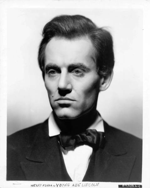 Henry Fonda as Abe Lincoln in a scene from the film 'Young Mr. Lincoln', 1939. (Photo by 20th Century-Fox/Getty Images)