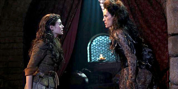 "Red (Meghan Ory) and Anita (Annabeth Gish) in ""Once Upon a Time."""