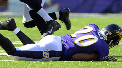 No major injuries for Ravens against Raiders