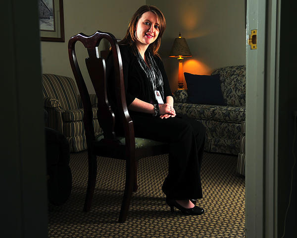Amanda Witmer is a bereavement care specialist with Hospice of Washington County. She helped to organize a local program to commemorate International Survivors of Suicide Day. The event is Saturday, Nov. 17, in Hagerstown.