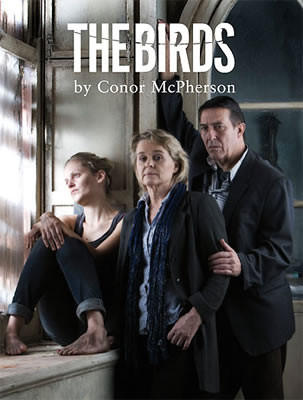 "Friday  Connor McPherson's ""The Birds"" is only loosely connected with Alfred Hitchcock's 1963 avian epic, and was adapted from British writer Daphne du Maurier's same-titled novelette. The plot follows strangers Nat and Diane, who take refuge and bond to survive the unnerving horde of birds who've begun assaulting their town in kamikaze-style attacks. Note: ""The Birds"" also shouldn't be confused with the ""Angry Birds"" app. Premieres at 8 p.m. at Plantation's Mosaic Theatre, 12200 W. Broward Blvd. $15-40. 954-577-8243 or MosaicTheatre.org."