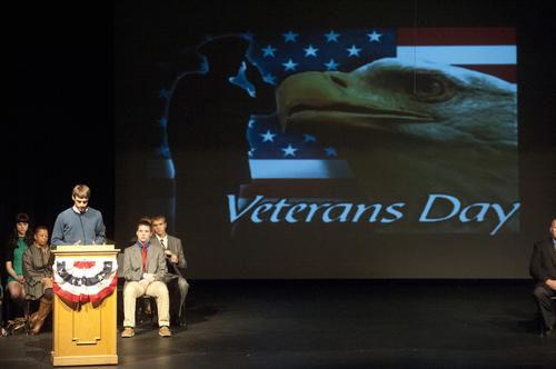 Photo Gallery: Veterans Day at Danvile High School