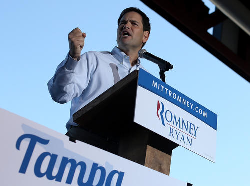 Sen. Rubio (R-Fla.), who was on Mitt Romney's vice presidential short list, saw his national profile soar during the 2012 campaign as he worked as a liaison between the Republican Party and Latinos. And as a leading member of the ¿Gang of Eight,¿ a bipartisan Senate group, Rubio has injected himself into the heart of the ongoing debate over immigration reform. But Rubio¿s openness for compromise on the issue has subjected him to criticism from the right over being too lenient toward immigrants currently in the U.S.