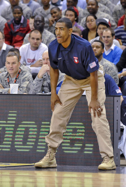 UConn coach Kevin Ollie has his team in the Top 25 at No. 23.