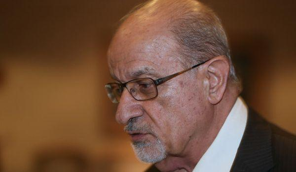 Veteran Syrian opposition figure and human rights activist Haytham al-Maleh attends the General Assembly of the Syria National Council meeting in Doha, Qatar.