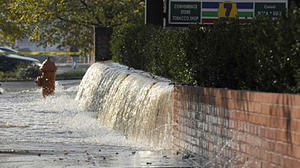 City's infrastructure problems continue with two water main breaks Monday