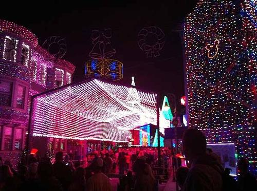 The Osborne Family Spectacle of Dancing Lights seen on Saturday, Nov. 10, 2012. The annual holiday light show runs through Jan. 6, 2013.