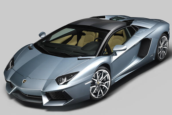 What's the best way to fully enjoy the unbridled aural assault that is the Lamborghini Aventador? Chop off the roof, of course.