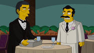 "Before he died in August at the age of 68, Marvin Hamlisch recorded a brief cameo for ""The Simpsons,"" playing a version of himself in an episode involving Abe Simpson's hidden past. On Sunday, the episode finally aired on Fox, making Hamlisch's vocal role a posthumous performance for the late conductor and composer."