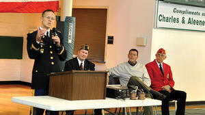 Annual ceremony honors area veterans