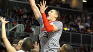 Maryland center Alex Len has been named ACC Player of the Week.