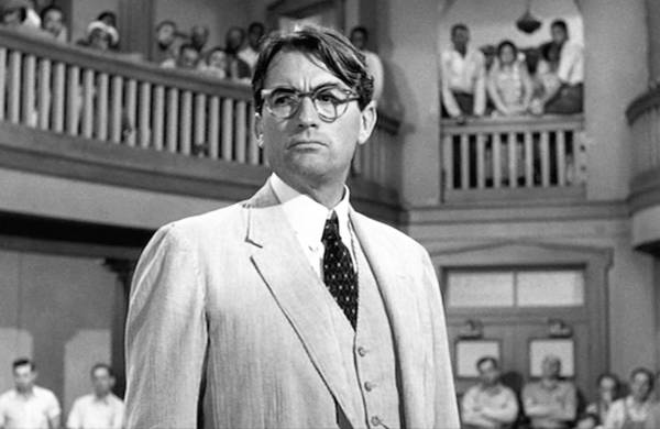 "Gregory Peck in ""To Kill a Mockingbird"""