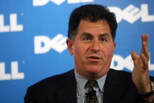 Michael Dell, chief executive of Dell Inc.