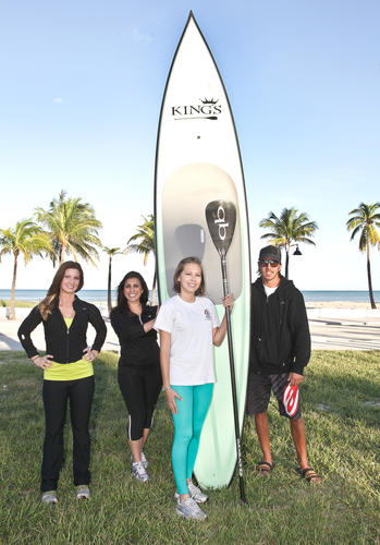 "Beth Bryant, left, Kelly Alvarez Vitale, Christie Galeano and Jeff Haynes promote  iTRACE Foundation and Emerge Broward's second annual ""Fort Lauderdale Turkey Trot & Paddle,"" which will take place Nov. 22 beginning at DC Alexander Park. The event aims to raise funds and awareness to support healthy living across generations, with an emphasis on childhood obesity.To see more photos from Society Scene's Broward edition, visit www.Facebook.com/SocietyScene."