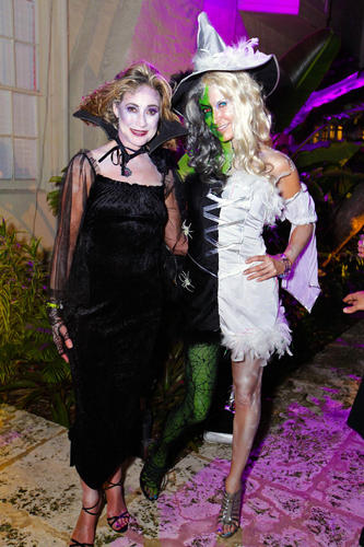 "Kimberly Swift, left, and Kirsten Braden at Gentlemen of the Garden's 10th and final ""Devil's Night Out,"" which took place Oct. 27 at the Ann Norton Sculpture Gardens. Gentlemen of the Garden was founded in 1991 to benefit specific landscaping and environmental beautification projects."
