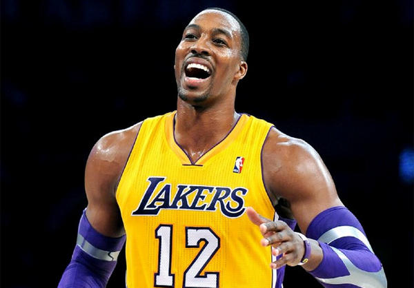 Dwight Howard is optimistic that the Lakers will continue to improve.