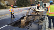 Broken water main cuts service, disrupts activities in Essex