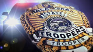 A 15-year-old boy was arrested by Alaska State Troopers Sunday in connection with a series of break-ins at a Mormon church in Wasilla this month that caused an estimated $40,000 in damage.