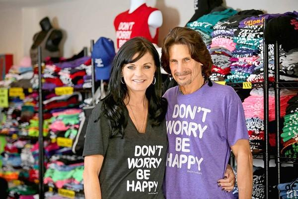 Mina Buc and her husband, Jim, owners of The Happy Place shop in Laguna Beach, are shutting down their operations and scaling it back to when they first started out as an online shop. The couple opened The Happy Place boutique to support those battling cancer. A few weeks ago, Mina was diagnosed with breast cancer.