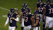Going into Bears versus Texans, many thought the most important game within the game was the Bears offensive line against the Texans' pass rush.
