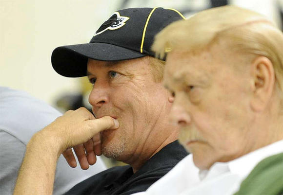Jim and Jerry Buss