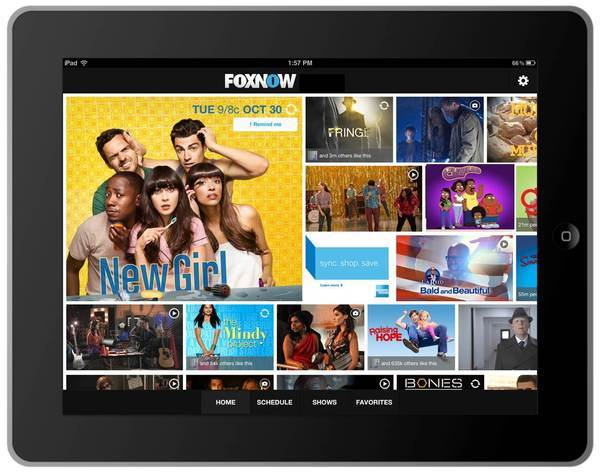 The new FoxNow application provides viewers with enhanced interactive and social features related to the network's shows.