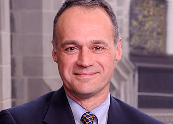 Dr. Michael R. Bishop, 53, has been appointed professor of medicine and director of the hematopoietic stem cell transplant program at the University of Chicago Medicine, effective November 15, 2012.    Bishop comes to the University of Chicago from the Medical College of Wisconsin/Froedtert Hospital in Milwaukee, where he was a professor of medicine and head of the adult hematologic malignancies section. Prior to that he spent 12 years at the National Cancer Institute in Bethesda, where he served as clinical head of the experimental transplantation and immunology branch of the NCI's Center for Cancer Research.  Bishop earned his medical degree from the University of Illinois College of Medicine in Chicago. He completed his residency in internal medicine at Chicago's Northwestern Memorial Hospital and a three-year fellowship in hematology/oncology at Loyola University Medical Center. He was an assistant professor of medicine at the University of Kentucky Medical Center and an associate professor at the University of Nebraska Medical Center, where he served as director of the leukemia and allogeneic stem cell transplantation programs.