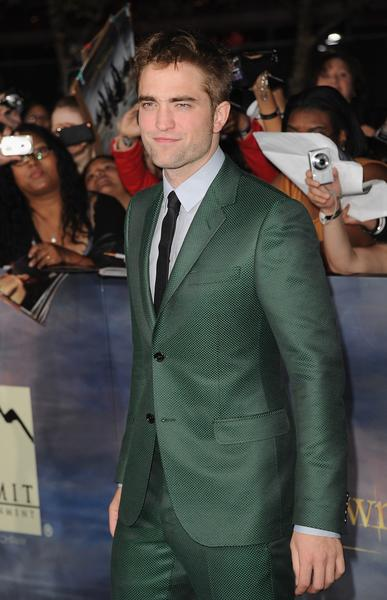 Premiere: 'Twilight Saga: Breaking Dawn -- Part 2': Robert Pattinson