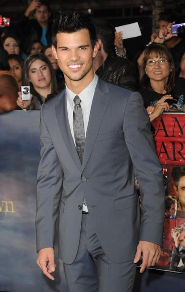Premiere: 'Twilight Saga: Breaking Dawn -- Part 2': Taylor Lautner