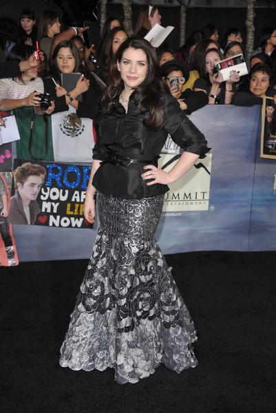 Premiere: 'Twilight Saga: Breaking Dawn -- Part 2': Stephenie Meyer