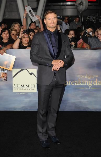 Premiere: 'Twilight Saga: Breaking Dawn -- Part 2': Kellan Lutz