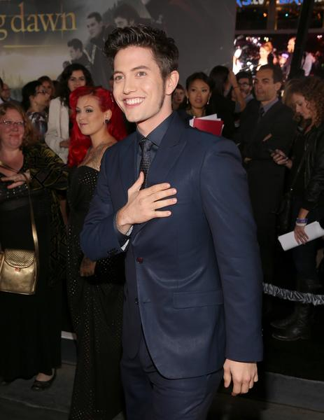 Premiere: 'Twilight Saga: Breaking Dawn -- Part 2': Jackson Rathbone