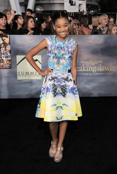 Premiere: 'Twilight Saga: Breaking Dawn -- Part 2': Amandla Stenberg