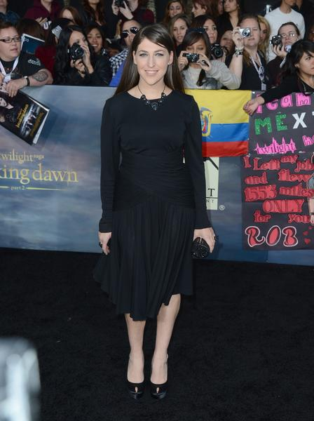 Premiere: 'Twilight Saga: Breaking Dawn -- Part 2': Mayim Bialik