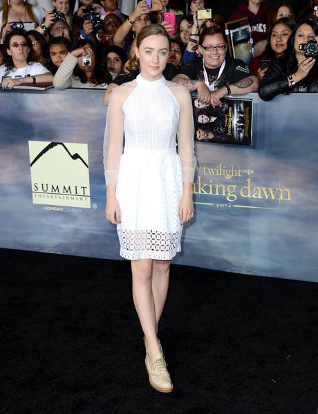 Premiere: 'Twilight Saga: Breaking Dawn -- Part 2': Saoirse Ronan