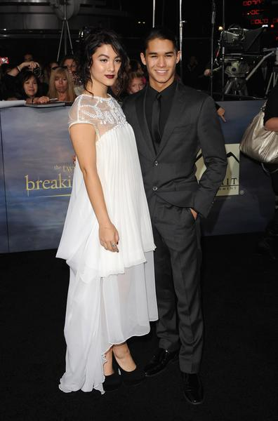 Premiere: 'Twilight Saga: Breaking Dawn -- Part 2': Fivel Stewart and Booboo Stewart