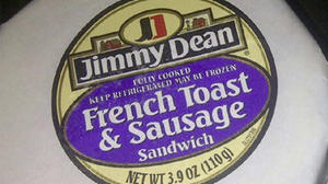 Jimmy Dean Breakfast Sandwich Recall