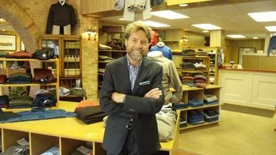 Jeff Pagel is the owner of The Clothes Post, a downtown Petoskey menswear store marking its 50th anniversary this year.