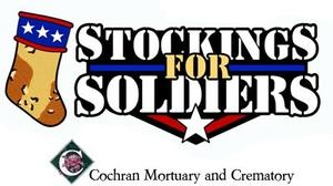 Donations being accepted for soldiers' Christmas stockings