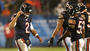 <strong>How long before the Bears offense finally punishes</strong> an opponent for the insulting squib kicks?