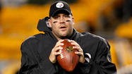 It appears another Ravens-Steelers showdown will hinge on a banged-up joint on Ben Roethlisberger's body.
